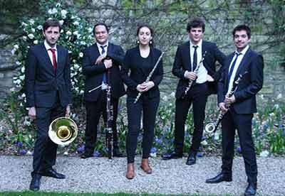 Quintette du Balcon  Instruments à vent