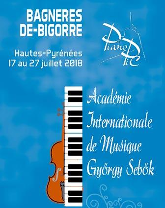Académie 2018 Piano Pic Bagnères de bigorre